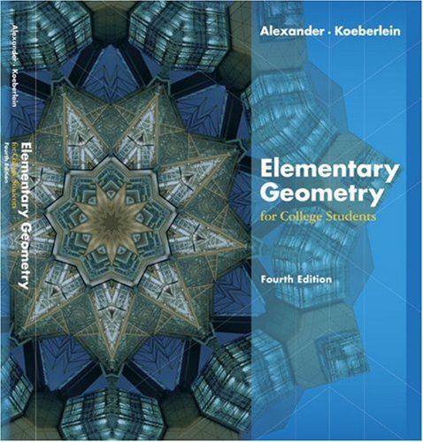 9780618645251: Elementary Geometry For College Students
