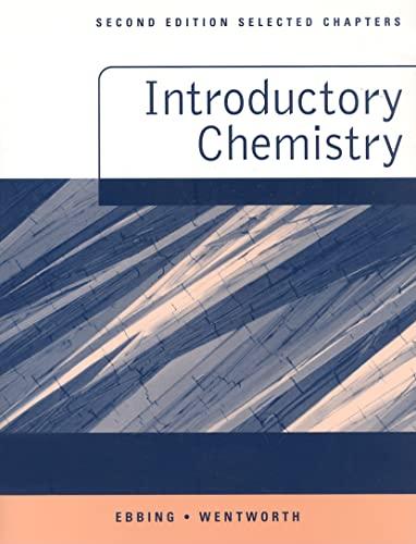 9780618646074: General Chemistry, Custom Publication