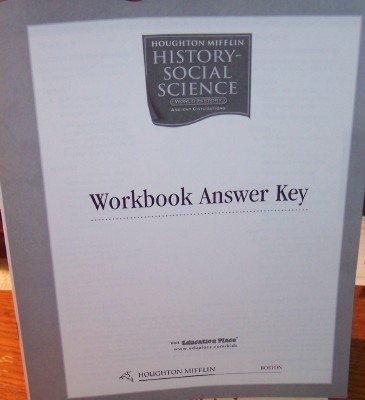 9780618646524: Houghton Mifflin Social Studies California: Practice Bk Answ Key Lv6