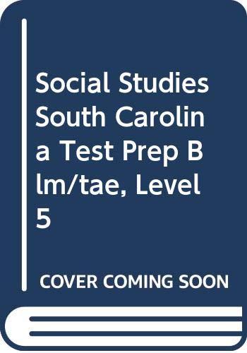 9780618650972: Houghton Mifflin Social Studies South Carolina: Test Prep Blm/Tae Lvl 5