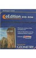 9780618656011: McDougal Littell - Geometry - eEdition