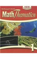MathThematics: Student Edition Book 1 2008: MCDOUGAL LITTEL