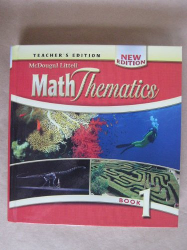9780618656097: MathThematics: Teacher's Edition Book 1 2008