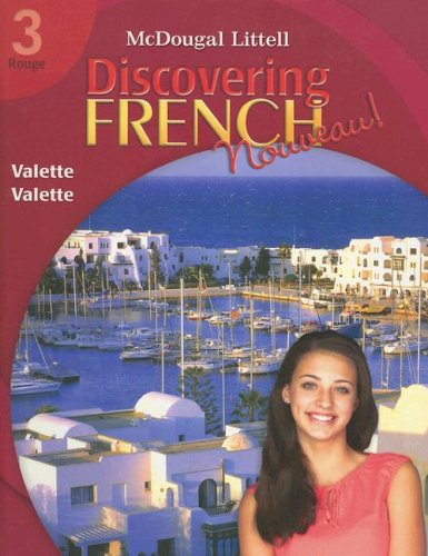 9780618656530: Discovering French, Nouveau!: Student Edition Level 3 2007