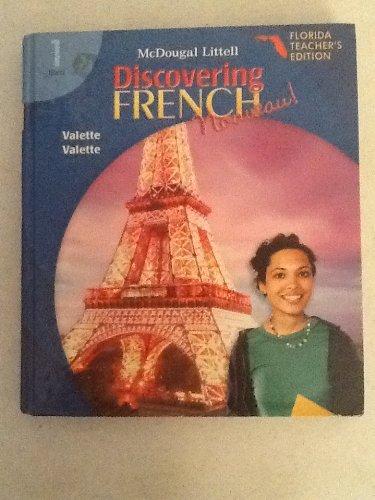9780618656622: Discovering French Nouveau Florida: Teacher's Edition Level 1 2007