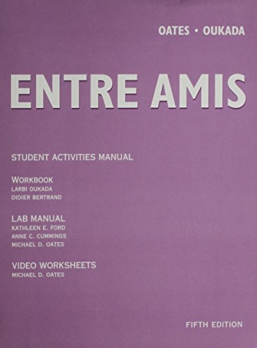 9780618657759: Entre Amis (French Edition)