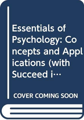Essentials of Psychology: Concepts and Applications (with: Jeffrey S. Nevid