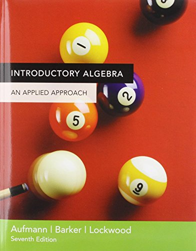 9780618658077: Introductory Algebra Plus Mathspace Cd 7th Edition