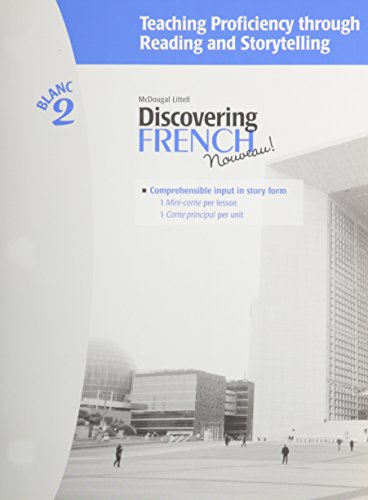 9780618658145: Discovering French, Nouveau!: Teaching Proficiency Through Reading and Storytelling Level 2