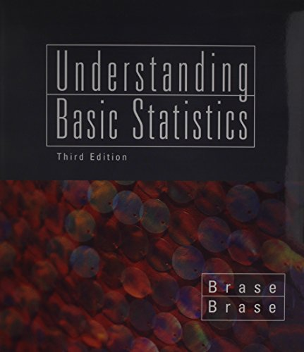 9780618658701: Brase, Understanding Basic Statistic, Brief, With Stat Pass Cd, With Excel Guide, 3rd Edition