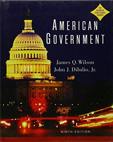 9780618660377: American Government AP Non Contract 9th Edition