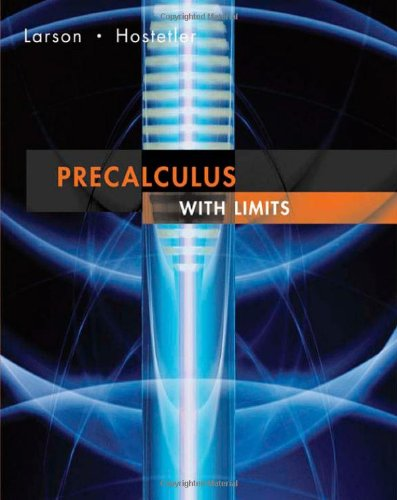 9780618660896: Precalculus with Limits