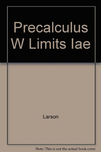 9780618660919: Precalculus with Limits Instructor's Annotated Ed.