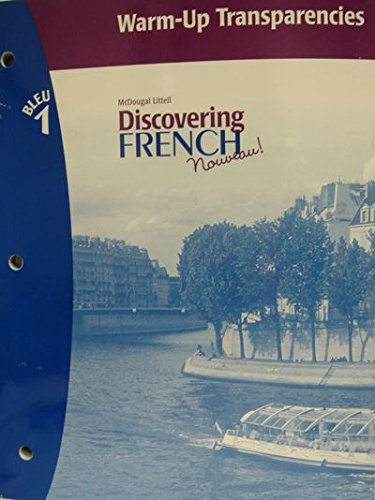 9780618660995: Discovering French, Nouveau!: Warm-Up Transparencies Level 1