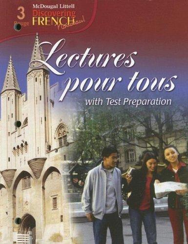 Lectures Pour Tous with Test Preparation (McDougal: Jean-Paul Valette, Rebecca