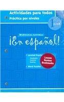 9780618661503: ¡En español!: Actividades para todos (Workbook) with Lesson Review Bookmarks Level 1 (Spanish Edition)