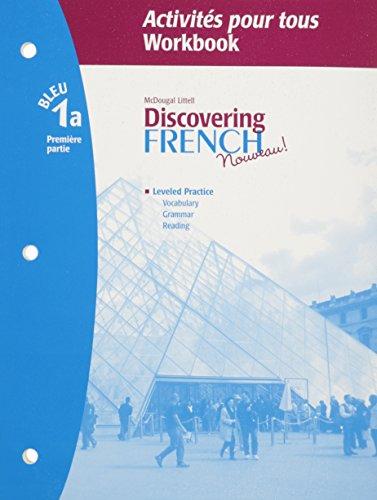 9780618661794: Discovering French, Nouveau!: Activites pour tous with Lesson Review Bookmarks Level 1A