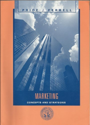 9780618665532: Marketing, Custom Publication