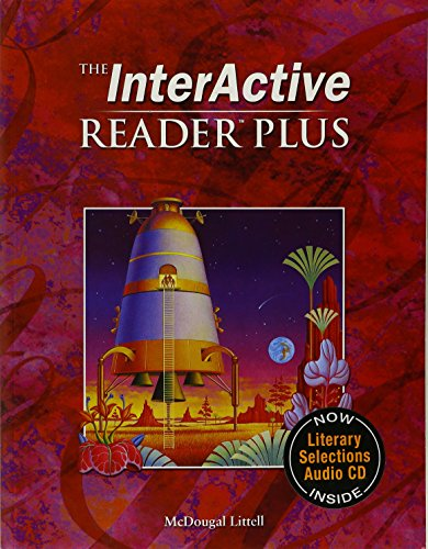 9780618665785: McDougal Littell Language of Literature: The Interactive Reader Plus with Audio CD-Rom Grade 7