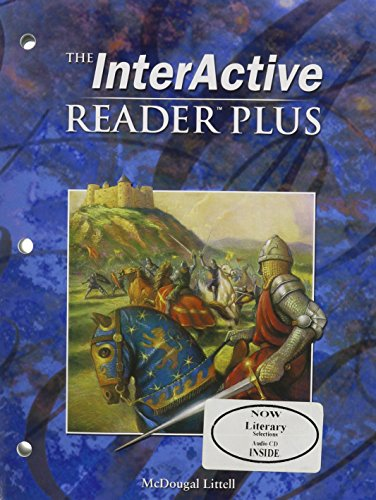 9780618665792: McDougal Littell Language of Literature: The Interactive Reader Plus with Audio CD-Rom Grade 10