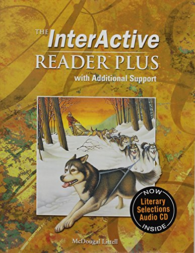 9780618665884: McDougal Littell Language of Literature: The Interactive Reader Plus with Additional Support with Audio-CD Grade 6