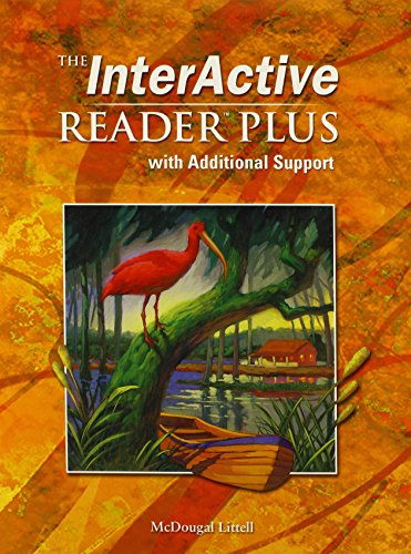 9780618665914: McDougal Littell Language of Literature: The Interactive Reader Plus with Additional Support with Audio-CD Grade 9