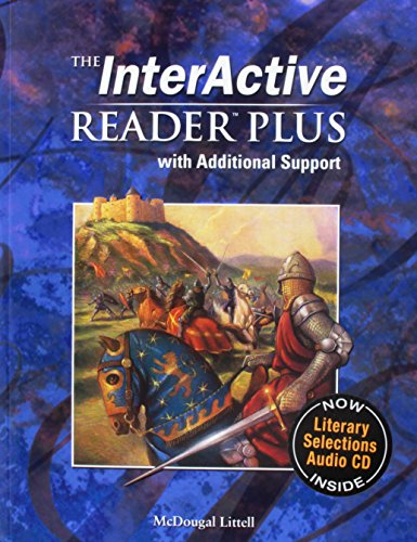 9780618665921: McDougal Littell Language of Literature: The Interactive Reader Plus with Additional Support with Audio-CD Grade 10