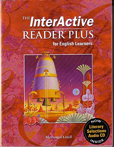 9780618665976: McDougal Littell Language of Literature: The Interactive Reader Plus for English Learners with Audio CD Grade 7