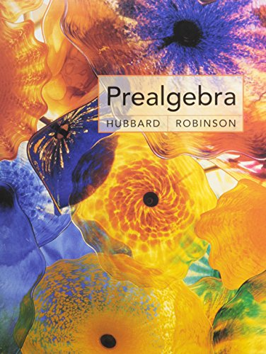 Prealgebra Plus Study And Solutions Manual Plus Mathspace Cd Plus Eduspace: Hubbard, Elaine