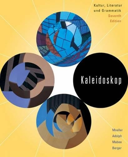 Kaleidoskop (Textbook only) (English and German Edition): Moeller, Jack, Adolph,