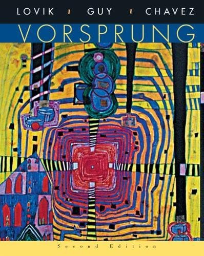 9780618669073: Vorsprung: A Communicative Introduction to German Language and Culture