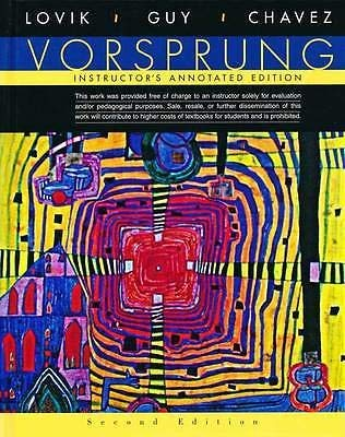 9780618669080: Vorsprung: A Communicative Introduction to German Language and Culture, Instructor's Annotated 2nd Edition