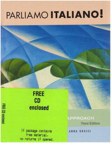 Parliamo Italiano!: Text with In-Text Audio CD: Branciforte, Suzanne; Grassi, Anna