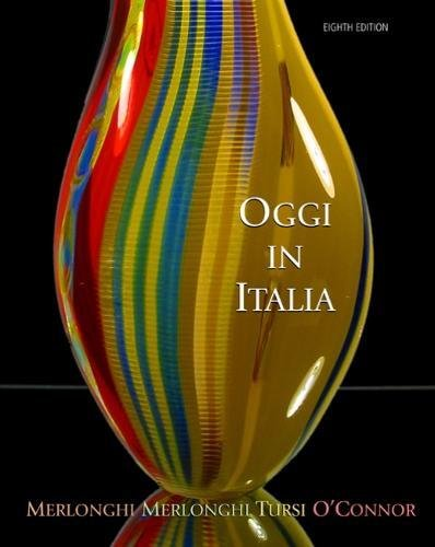 9780618678129: Oggi In Italia: A First Course in Italian