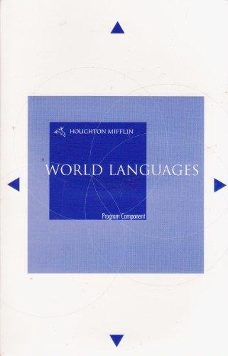 9780618678303: Student Activities Manual Audio CD Program for Merlonghi/Merlonghi/O'Connor/Tursi's Oggi In Italia, 8th (Houghton Mifflin World Languages)