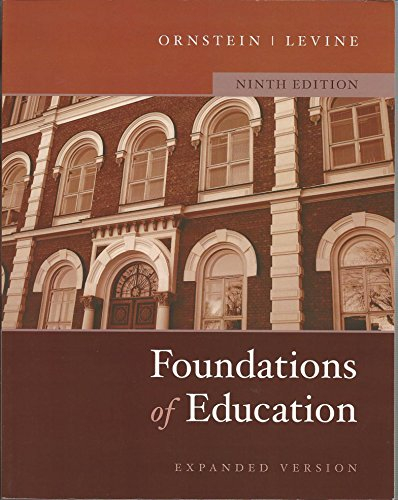 9780618678709: Foundations of Education