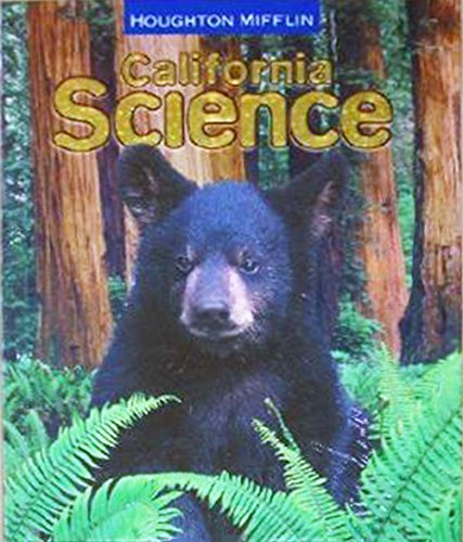 Houghton Mifflin Science California: Student Edition Single Volume Level 4 2007: MIFFLIN, HOUGHTON