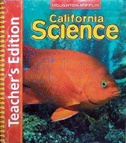Houghton Mifflin Science California: Techr Edtn Single Vol Level 2 2007: Badders, William