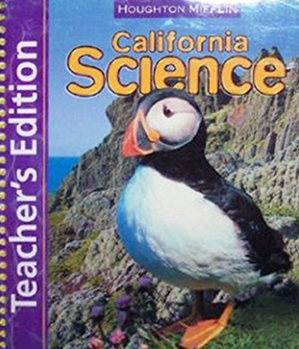 9780618686537: California Science Teacher's Edition, Level 3