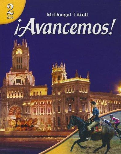 9780618687251: ?Avancemos!: Student Edition Level 2 2007 (Spanish Edition)