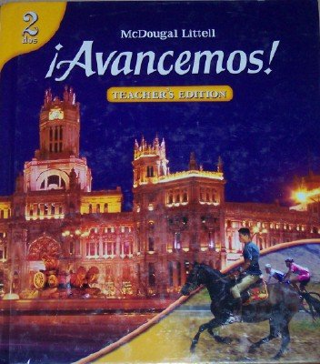 9780618687275: ?Avancemos!: Teacher s Edition Level 2 2007