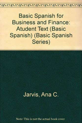 9780618687466: Basic Spanish For Business And Finance: Text with In-Text Audio CD (Basic Spanish Series)
