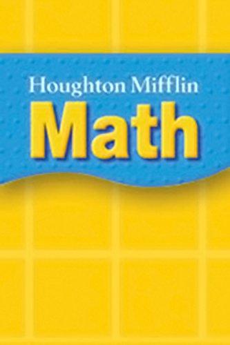 Houghton Mifflin Math Grades 5/6 Write-On Wipe-Off: Mifflin, Houghton