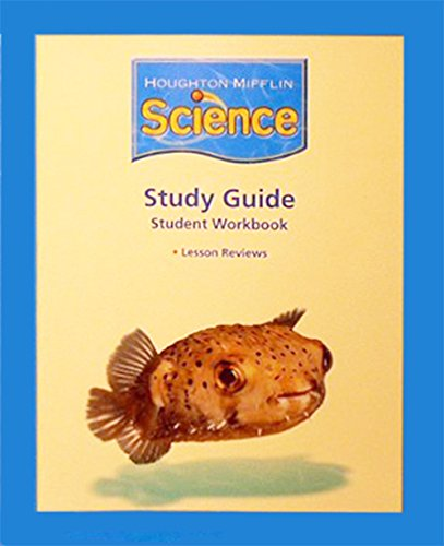 9780618688692: Science: Study Guide Consumable Level K (Houghton Mifflin Science)