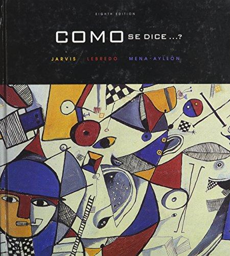 9780618689309: Como Se Dice, Custom Publication (Spanish Edition)