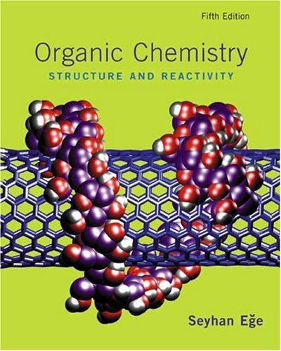 9780618689408: Organic Chemistry Structure and Reactivity, Fifth Edition