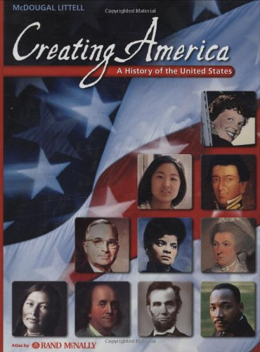 9780618689774: Creating America: A History of the United States
