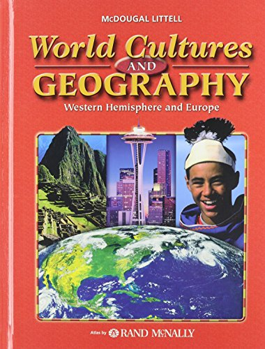 9780618689958: World Cultures & Geography: Western Hemisphere and Europe: Student Edition © 2007 2007