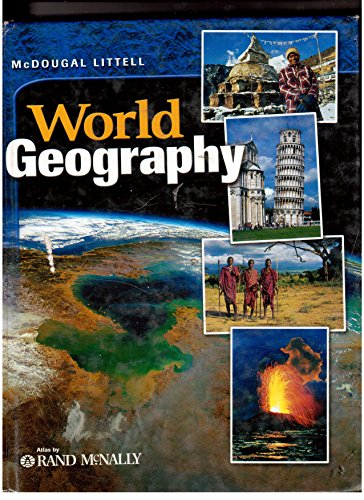 9780618689989: McDougal Littell World Geography: Student's Edition Grades 9-12 2007