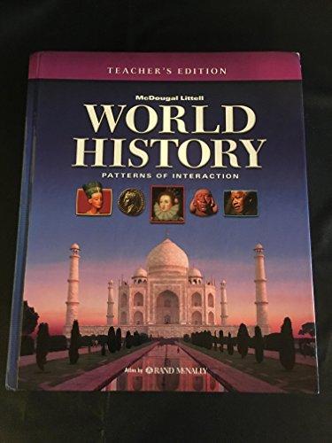 9780618690091: World History: Patterns of Interaction: Teacher Edition 2007